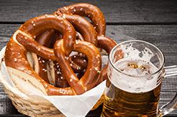 ドイツビール/プレッツェル